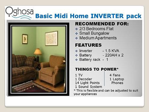 BASIC MIDI HOME INVERTER  PACK