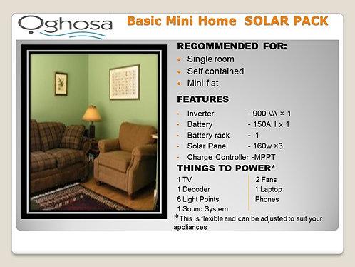 BASIC MINI HOME SOLAR PACK