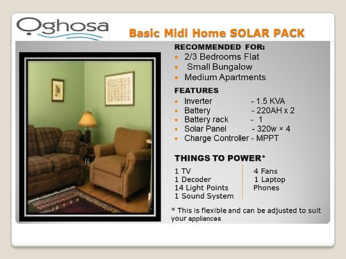 BASIC MIDI HOME SOLAR PACK