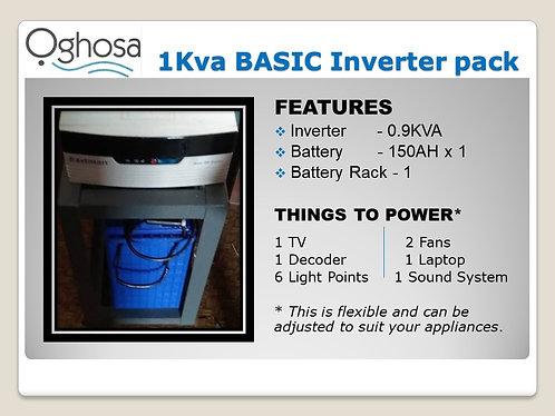 1 KVA BASIC INVERTER PACK