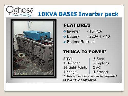 10 KVA BASIC INVERTER PACK