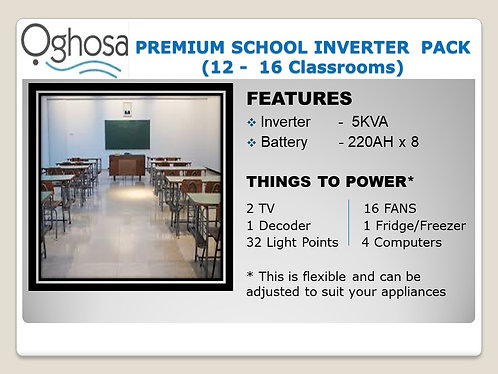 PREMIUM SCHOOL INVERTER PACK
