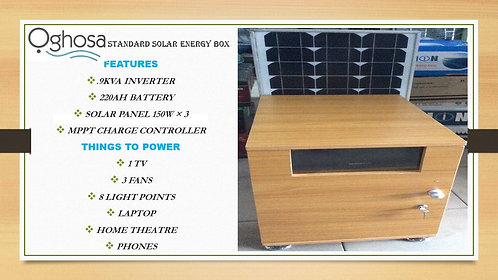 STANDARD SOLAR ENERGY BOX