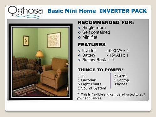 BASIC MINI HOME INVERTER  PACK