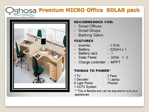 PREMIUM MICRO OFFICE SOLAR PACK