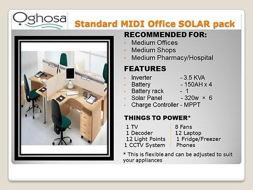 STANDARD MIDI OFFICE SOLAR PACK