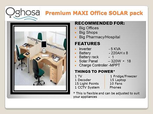 PREMIUM MAXI OFFICE SOLAR PACK