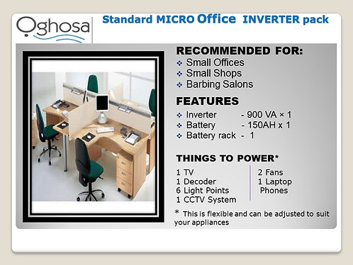 STANDARD MICRO OFFICE INVERTER PACK