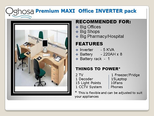 PREMIUM MAXI OFFICE INVERTER PACK