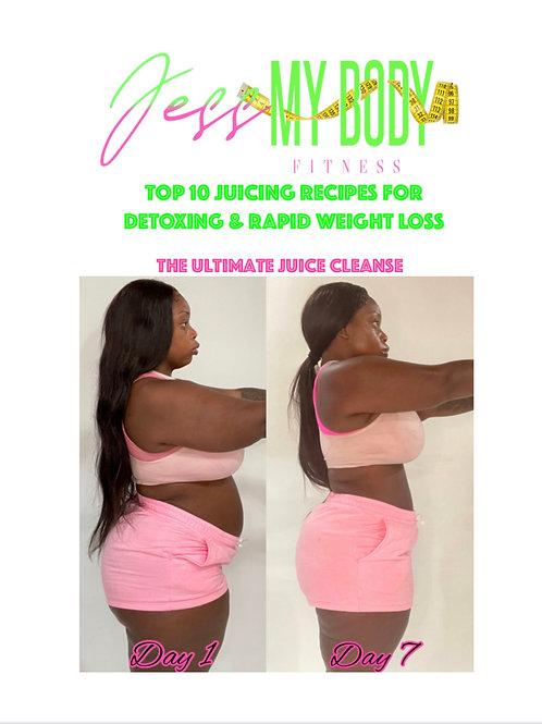 JessMyBody Top 10 Recipe  Ultimate Juice Cleanse