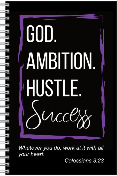 Black Ambition Notebook