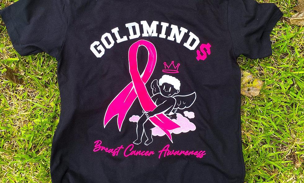 Black Breast Cancer Shirt