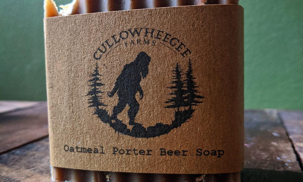 Oatmeal Porter Beer Soap