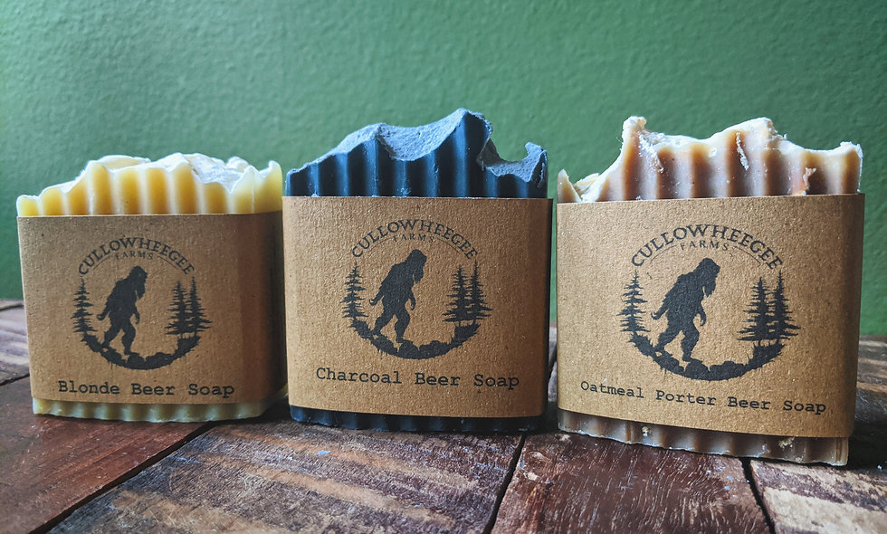 Beer Soap Trio