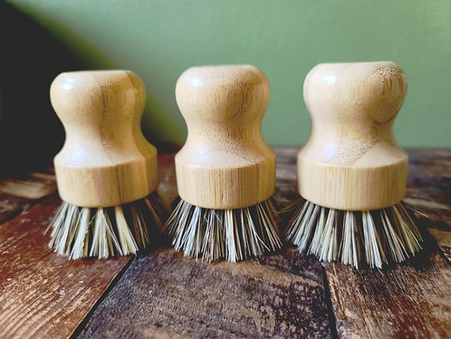 3 Pack Bamboo Dish Scrubbers