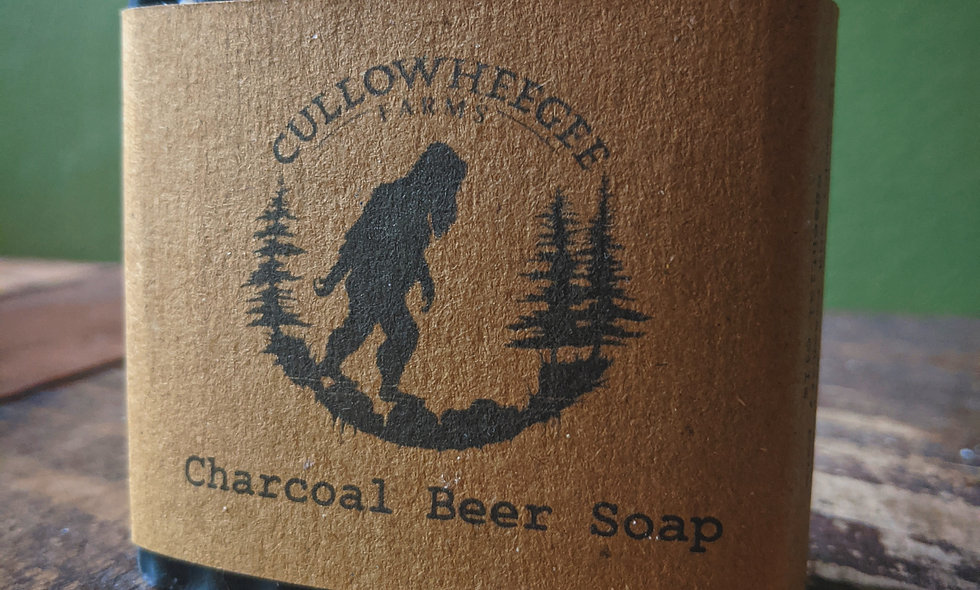 Charcoal Beer Soap