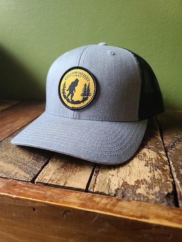 Grey &  Black Trucker Hat