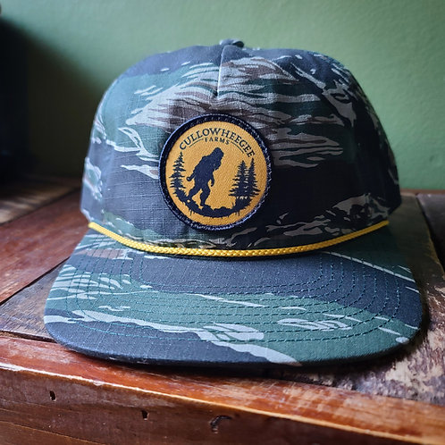Tiger Camo Grandpa Hat