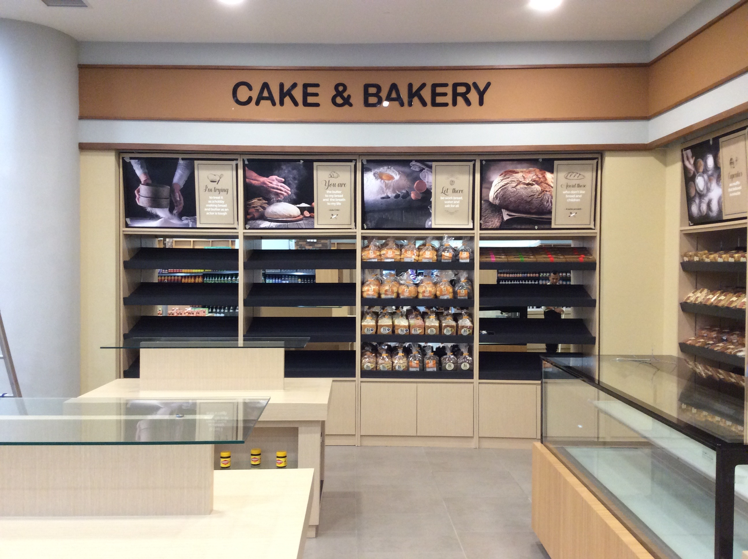 Cake & Bakery Area