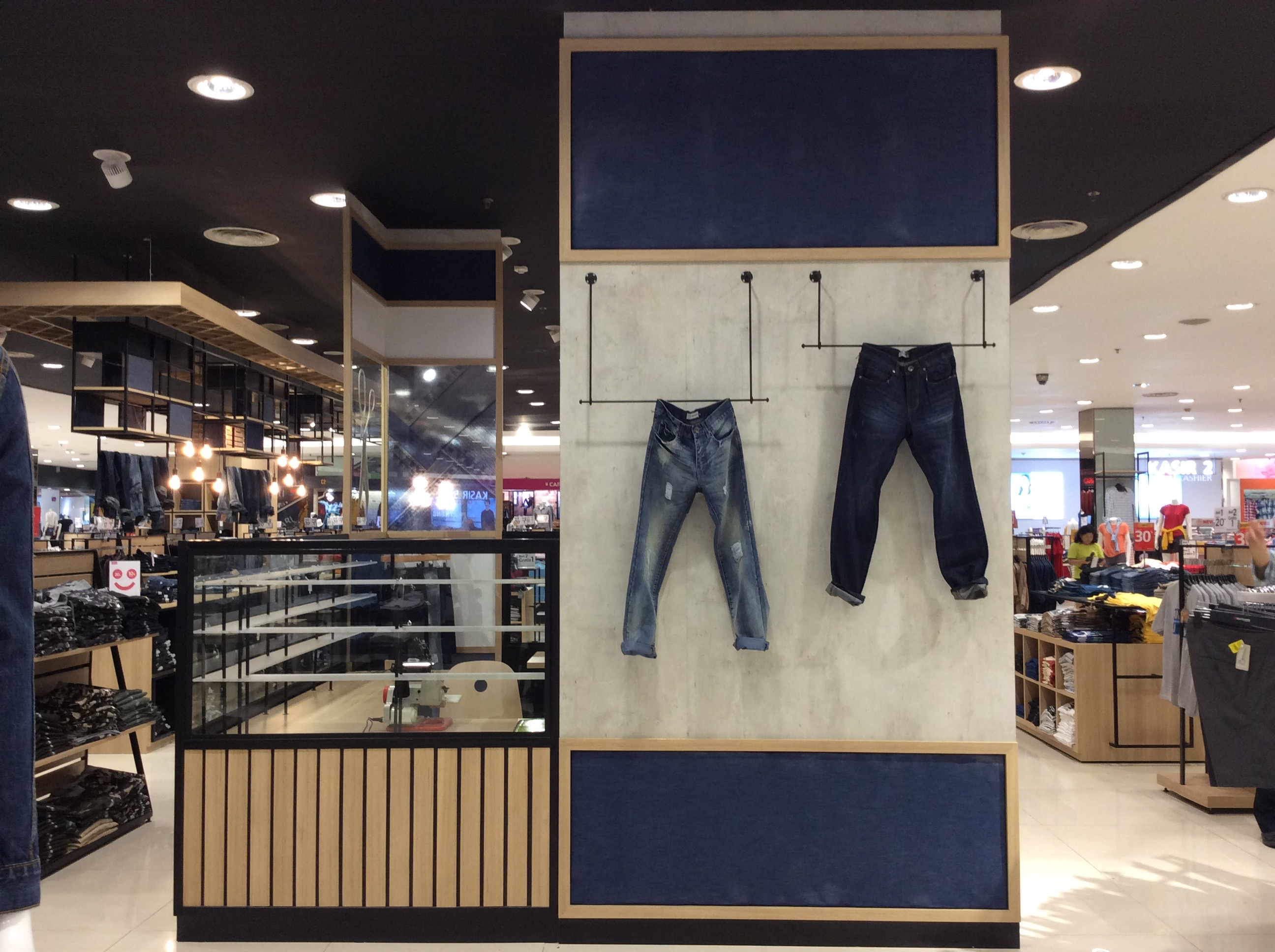 Denim Alteration Counter