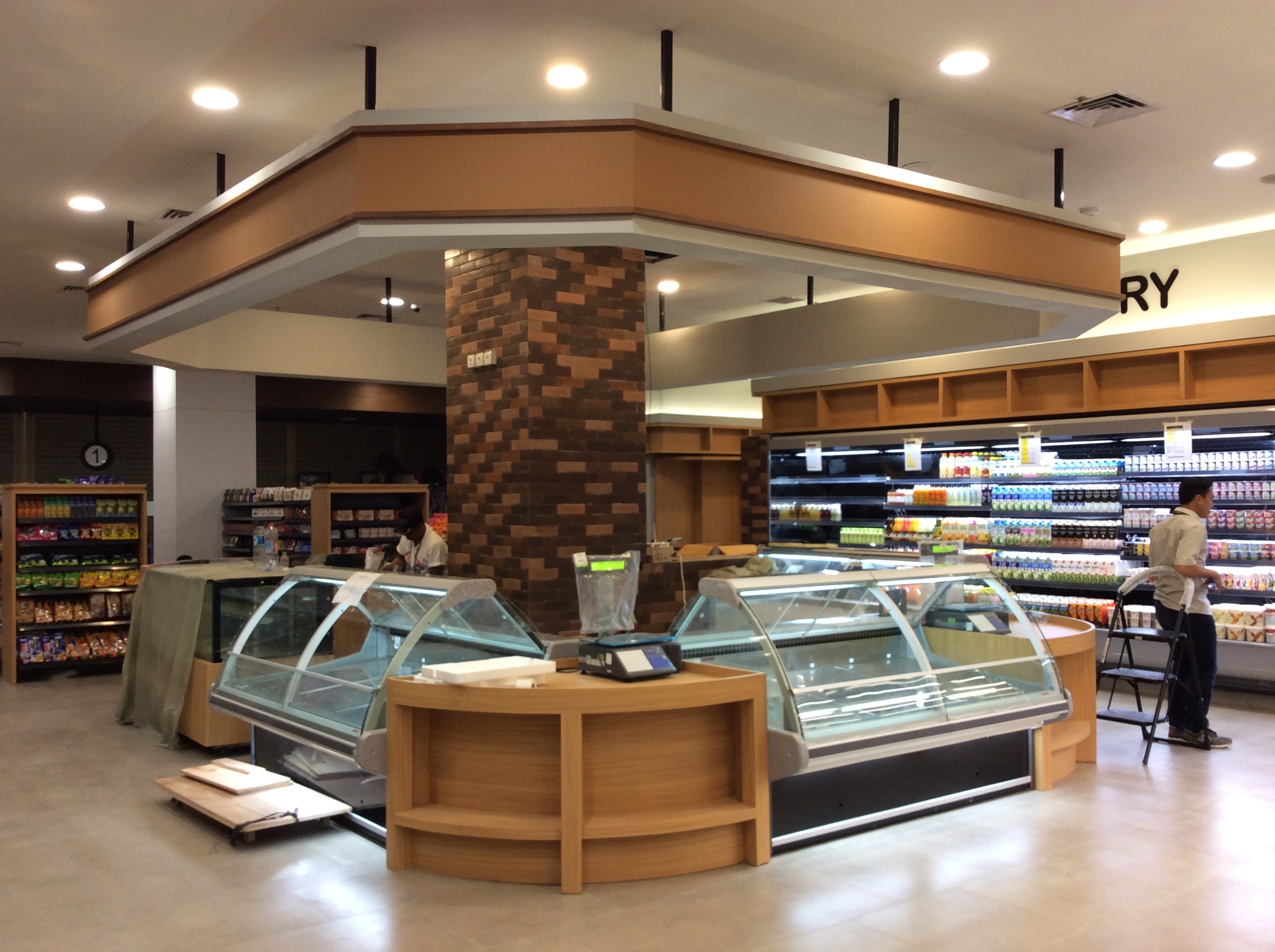 Deli & Cheese Area