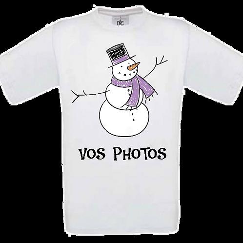 Tee-shirt personnalisé avec vos idées enfant