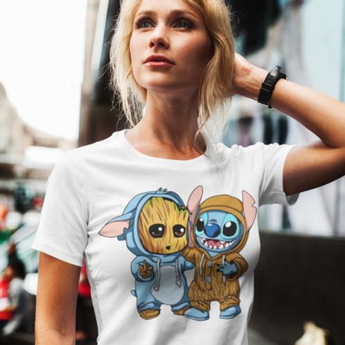 Tee shirt arbre extraterrestre