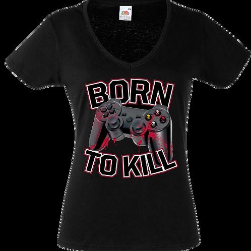 tee shirt born to kill femme