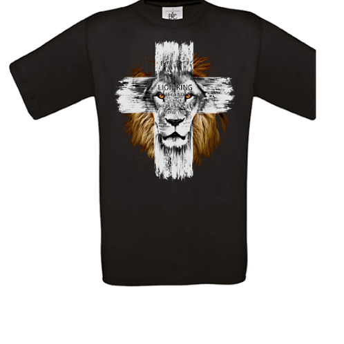 lion croix enfant