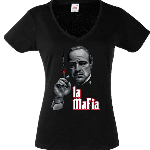 tee shirt le parrain mafia femme