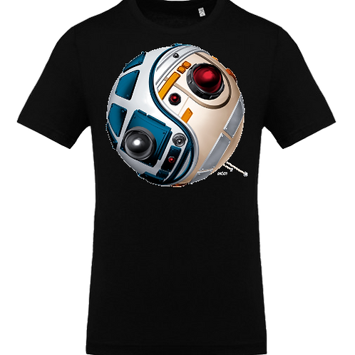 ying yang star wars homme