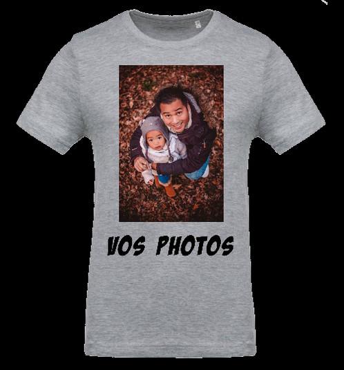 Tee shirt personnalis avec vos id es recto verso homme portez un t shirt anim en 3d sion ou - T shirt personnalise photo et texte ...