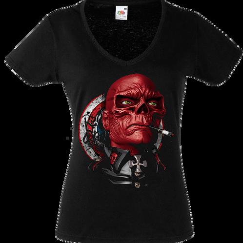 red skull femme