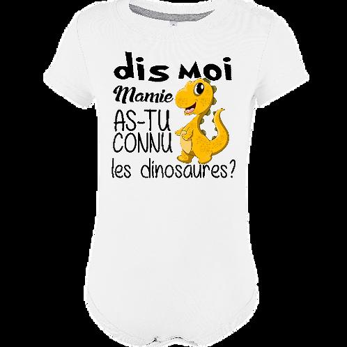 dismamie as tu connu les dinosaures