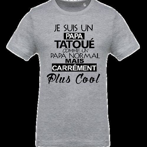 tee shirt papa tatoue