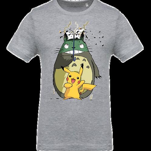 tee shirt totoro pikachu