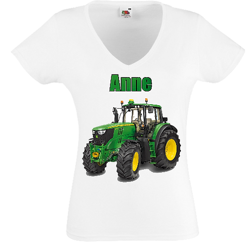 tracteur femme