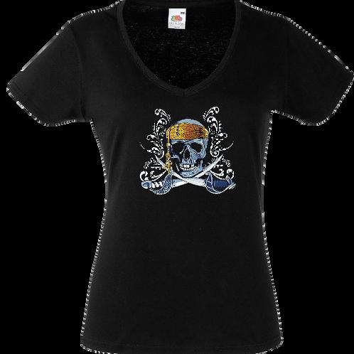 tee shirt pirate femme