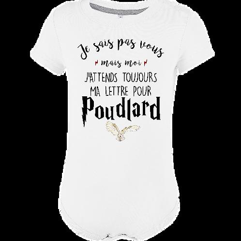 body bebe lettre Poudlard