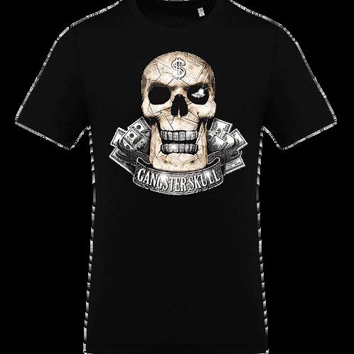 tee shirt tete de mort gangster enfant