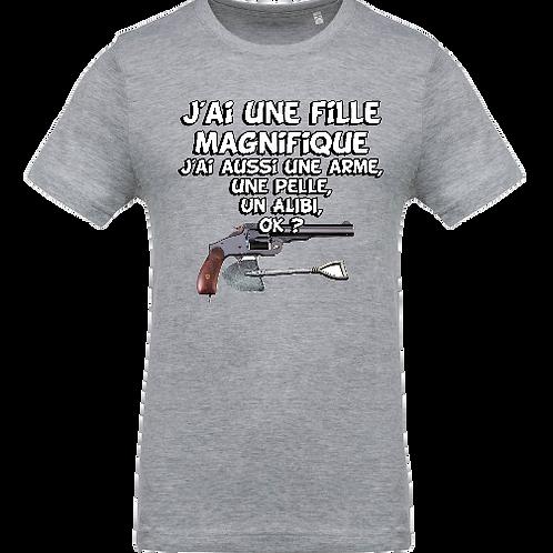 tee shirt fille magnifique
