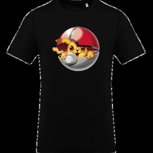 tee shirt pika pokeball