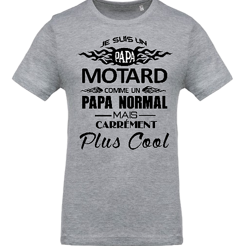 tee shirt papa motard 2