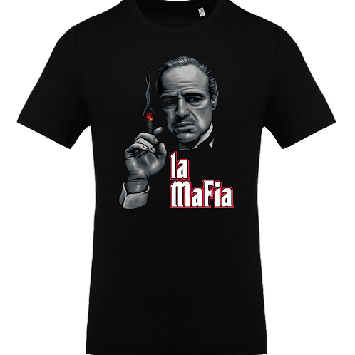 tee shirt le parrain mafia