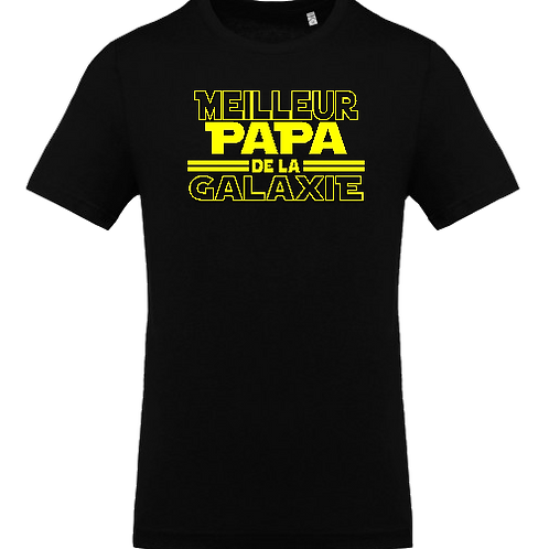 tee shirt papa galaxie
