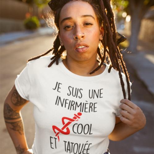 Tee shirt Infirmiere tatouée