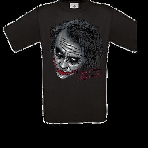 tee shirt enfant why so serious joker batman