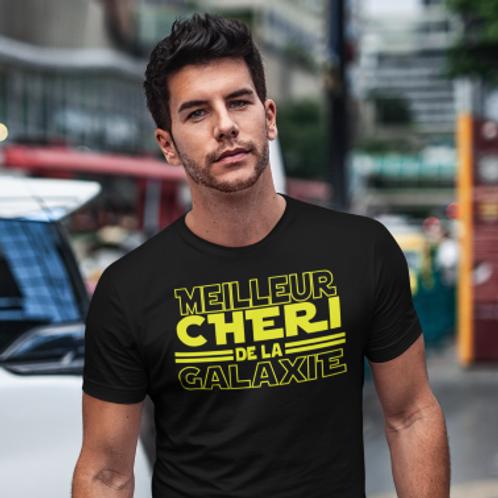 tee shirt meilleur cheri de la galaxie