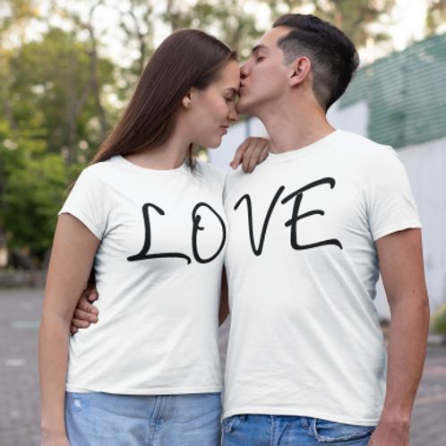 tee shirt couple love