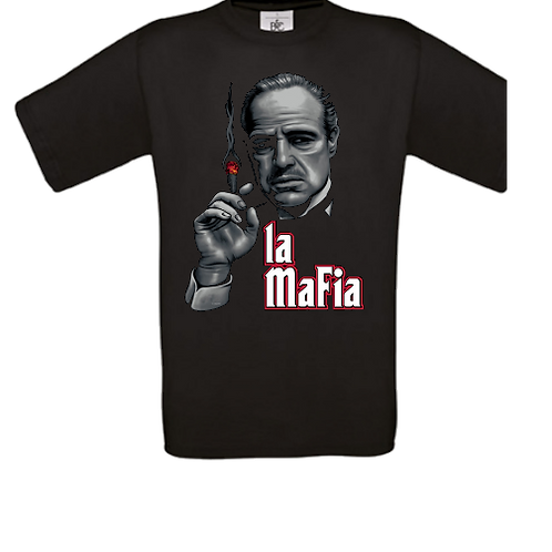 tee shirt enfant le parrain mafia
